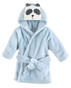 Hudson Baby Soft Plush Baby Bathrobe