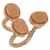 Ettinger UK Dara Lori Three Bezel Cluster Sunset Ring