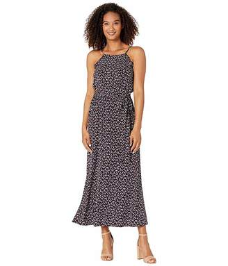 CeCe Sleeveless Marrakesh Lace Disty Maxi Dress