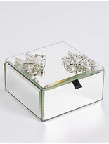 M&S Collection Butterfly Brooch Trinket Box