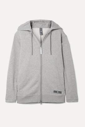 adidas by Stella McCartney Essentials Cotton-blend Fleece Hoodie - Gray