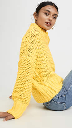 Free People My Only Sunshine Sweater