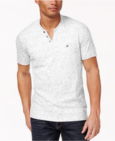INC International Concepts Speckled Henley Shirt, Only at Macy's