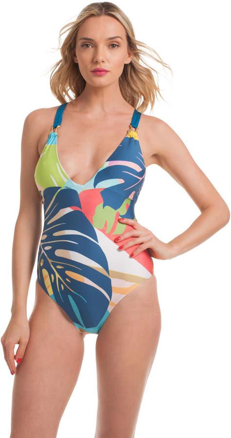 86363a2039a Banana Leaf Swimsuit - ShopStyle