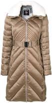 Rossignol belted mid-length coat