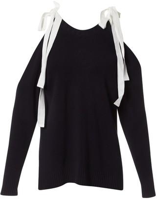 Monse Navy Cotton Knitwear for Women