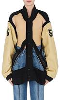Maison Margiela Women's Deconstructed Varsity Jacket