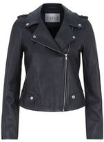 Claudie Pierlot Coconut Leather Jacket