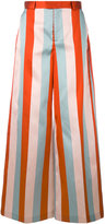 RED Valentino striped pants - women - Silk/Polyester/Acetate - 40