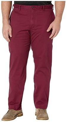 Polo Ralph Lauren Big & Tall Big Tall Stretch Chino Pants (Classic Wine) Men's Casual Pants