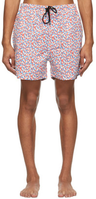 Solid and Striped Multicolor The Classic Geo Swim Shorts