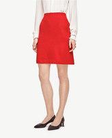 Ann Taylor Side Pocket Wool Blend Skirt