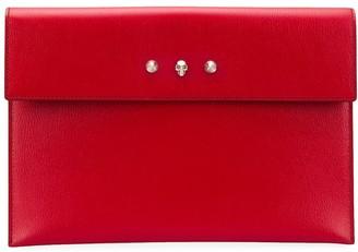 Alexander McQueen Foldover Envelope Clutch Bag