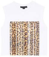 Alexander Wang Printed cotton crop top