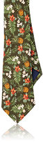Barneys New York Men's Floral Linen Necktie