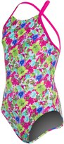 Arena Girls' Watercolor One Piece Swimsuit 8127927