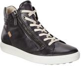 Ecco Women's Soft 7 Zip High Top Sneaker