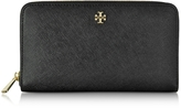 Tory Burch Robinson Multi Gusset Zip Continental Wallet
