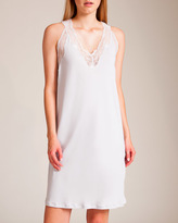 Hanro Valencia Short Gown