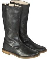 Pom D'Api Pom Dapi Black Metallic Leather Boot