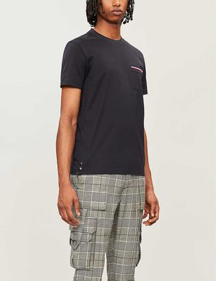Moncler Patch-pocket cotton-jersey T-shirt