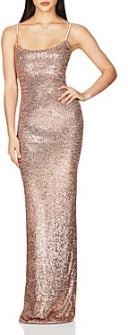 Nookie Sweet Nothings Sequined Evening Gown