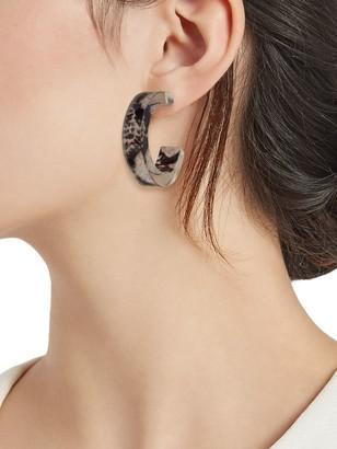 Ava & Aiden Animal Thick Hoop Earrings