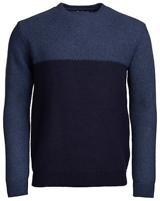 Barbour Colorblock Wool Sweater