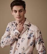Reiss Honour Floral Printed Shirt
