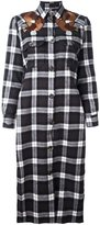 Each X Other checked long shirt