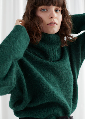 And other stories Wool Blend Turtleneck Sweater
