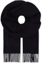 Vivienne Westwood Embroidered wool scarf