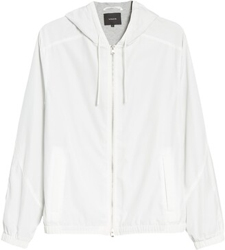 Vince Hooded Windbreaker Jacket