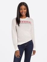Draper James Fair Isle Puff Sleeve Sweater