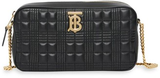 Burberry TB Quilted Leather Camera Bag