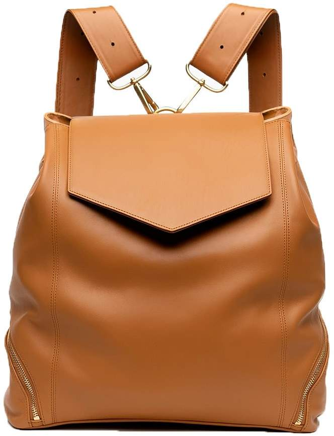 07098654220 Leather Backpack Purse - ShopStyle
