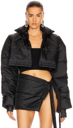 LaQuan Smith Puffer Jacket in Black | FWRD