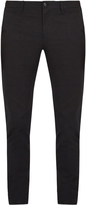 Burberry Slim-leg cotton-twill chino trousers