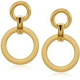 Trina Turk Double Link Door knocker Drop Earrings