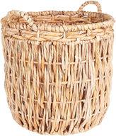Household Essentials Corn Leaf Floor Basket