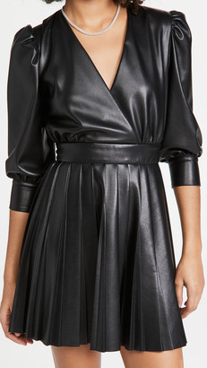 MSGM Faux Wrap Dress