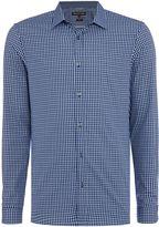 Michael Kors Vincent Slim Fit Small Check Shirt