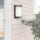 Bronx Dedeaux Outdoor Flush Mount Ivy Finish: Bronze, Bulb Type: Incandescent