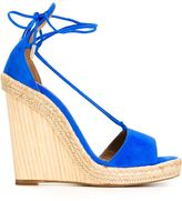 Aquazzura 'Alexa' wedge sandals - women - Leather/Suede - 40