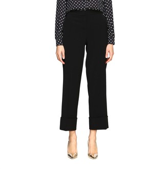 Boutique Moschino Cropped Cady Trousers