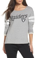 Junk Food Clothing Women's Nfl Oakland Raiders Champion Sweatshirt