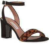 Tabitha Simmons Leticia Leopard-Print Hair Sandals