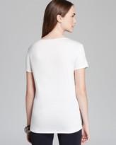 David Lerner Tee - Leather and Jersey