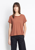 Vince Classic Stripe Relaxed Tee