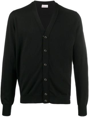 Moncler V-neck buttoned cardigan